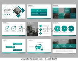 Template For Presentation Green Square Abstract Presentation