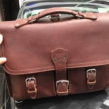 saddleback leather l front pocket briefcase men s fashion bags wallets on carou