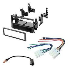nissan 2000 2004 xterra car stereo radio cd player receiver install mounting kit wire harness radio antenna adapter wiring harness adapter for car stereo walmart at Wiring Harness For Car Stereo Walmart