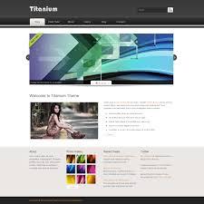 Free Dreamweaver Website Templates Template 24 Titanium 4