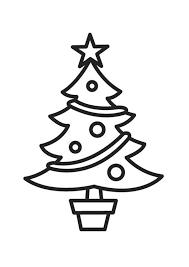 Kleurplaat Kerstboom Afb 18336 Images