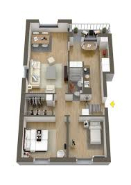 Small Two Bedroom House 40 More 2 Bedroom Home Floor Plans