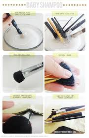 deep clean with baby shoo brush cleaning 101 how to properly wash your makeup