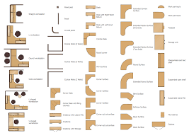 office furniture layout design. Design Elements \u2014 Cubicles And Work Surfaces Office Furniture Layout