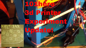 chinese 101 hero 3d printer review reprap calibration improvements and upgrades update 2
