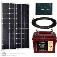 wiring a solar panel to a battery and charge controller