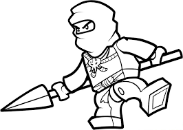 Small Picture Lego Ninjago Colotring Pages