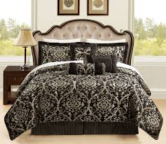 image of black and gold comforter sets king designs