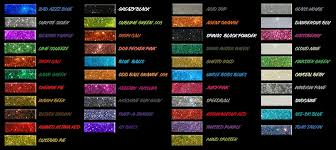 Bike Paint Colour Chart Metal Flake Colors Car Painting Paint Charts Custom Paint