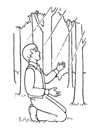Small Picture S Coloring Page Of Joseph Smith First VisionColoringPrintable