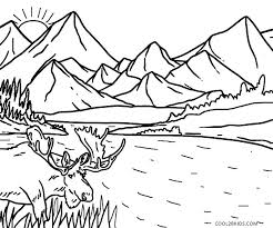 Coloring Pages Nature Coloring Pages Nature Of Free Page Simple