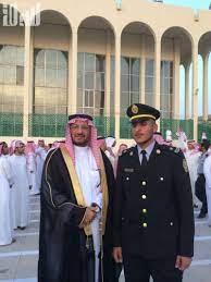"""تخرج """"عبدالعزيز"""" من كلية الملك خالد """"ملازماً"""""""