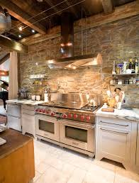 Rustic Backsplash Designs Gorgeous Rustic Stone Backsplash Country Kitchen Designs