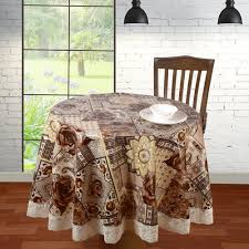 round table cover size 60 x 60 inch