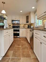 Gallery Kitchen Floor Tiles With White Cabinets Furniture Home Decor