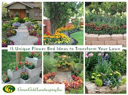 flower bed border ideas archives