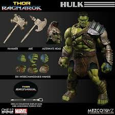 Comic Book Hero Action Figures Mezco Toyz 1/12 One 12 Collective Marvel  Thor Ragnarok Gladiator Hulk In Hand! Toys & Hobbies goothai.com