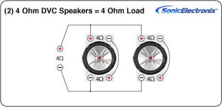 wiring dual 2 ohm subs wiring wiring diagram, schematic diagram 4 Ohm Dual Voice Coil Wiring Diagram car parts diagram names further ma audio subwoofers wiring diagram for moreover infinity wiring diagram 1998 wiring diagram for dual 4 ohm voice coil