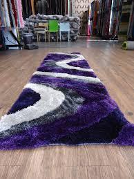 vibrant purple runner rugs rug runners roselawnlutheran