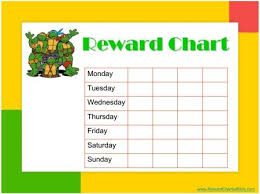 Ninja Turtle Potty Training Chart Reward Chart Reward Chart Kids Kids Rewards Potty