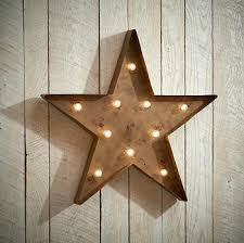 rustic star wall decor universaldesign info