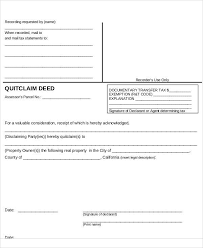Quick Deed Form Classy 48 Free Claim Forms Sample Templates
