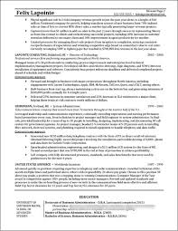 Program Manager Resume Examples Program Manager Resume Example Distinctive Documents