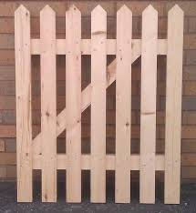 wood picket fence gate. Picket-fence-section Wood Picket Fence Gate R