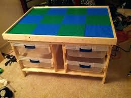 wood lego tables wooden table for my son with chairs