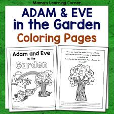 You might also be interested in coloring pages from adam and eve category. Adam And Eve In The Garden Coloring Pages Mamas Learning Corner