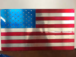 vintage american flag wall art flag wall decor lovely metal wall decor with flag replica vintage