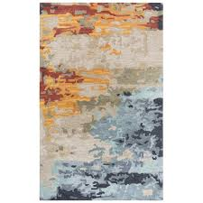 5 x 8 medium modern multi colored area rug mod rc willey furniture