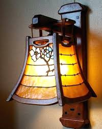 arts and crafts style chandeliers best craftsman wall lighting ideas on craftsman craftsman style wall sconces