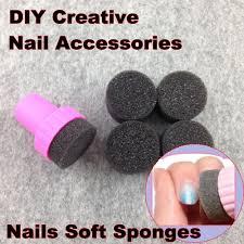 Nail Art Tools, Nails Soft Sponges For Color Fade Manicure, DIY ...