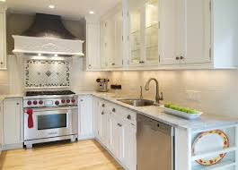 Small Kitchen Backsplash White Kitchen Marble Counters Wolf Oven Six Tricks For Small