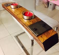 furniture made from wine barrels. Custom Made Wine Barrel Stave Candle Holder Centerpiece Handmade. Furniture From Barrels O