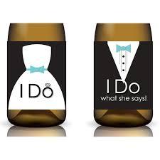 159 best wedding wine images on pinterest wedding glasses Wedding Wine Koozies wine labels for wedding do what she says printable wedding wine koozies