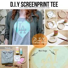 diy screen printing shirts diy screen printing shirts awesome pin od kelsi allenbach na outfit