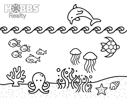 As the name suggests, thin crust pizza has an extremely thin crust, as opposed to the chicago special deep dish pizza or thick. Beach Coloring Pages For Kids Holden Beach Blog