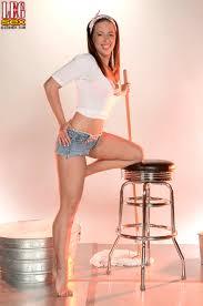 PinkFineArt Kalee Hunter Sudsy Stems from Leg Sex