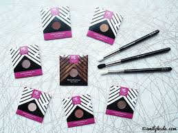 beauty bay haul uk emilyloula makeup geek shadows morphe zoeva brushes review