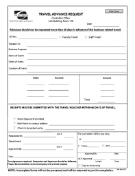 Advance Request Form Fill Online Printable Fillable