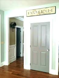 best paint for interior doors painted interior doors marvellous painted doors with stained wood trim painting