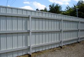 Brilliant Sheet Metal Fence O Throughout Design Decorating