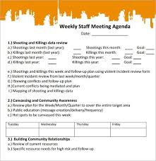 sample agendas for staff meetings sample staff meeting agenda template famous illustration more 18
