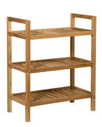 narrow 3 shelf stackable shoe rack for shoes organizer idea