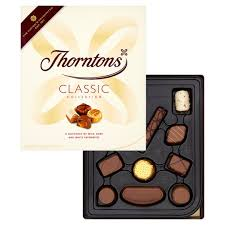 thorntons clics chocolates box 274g