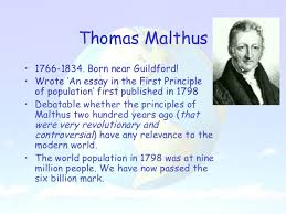 population theories population theories malthus boserup and the club of rome 2