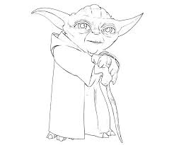 Small Picture Yoda Coloring Pages fablesfromthefriendscom