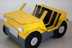 Cách làm ô tô cho búp bê